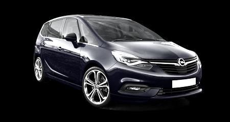 Nowy Opel Zafira - Wynajem